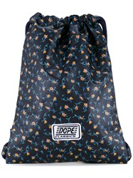 G.V.G.V. Liberty Floral Print Backpack Blue