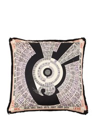 Missoni Rabbit Horoscope Cotton Pillow Multicolor