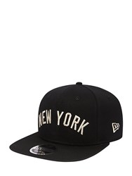 New Era 9Fifty York Yankees Original Fit Hat Black