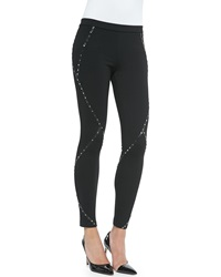 Haute Hippie Skinny Pants With Stud Detail
