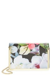 Ted Baker London 'Small Forget Me Not' Leather Crossbody Bag