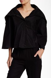 Planet Solid Capelet Black