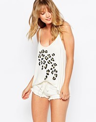 Wildfox Couture Wildfox Cami Bed Top And Shorts White