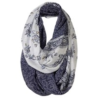 Fat Face Persian Floral Two Part Snood Navy White
