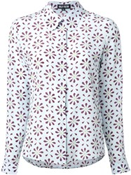 Holly Fulton 'Barbara' Straight Shirt Blue