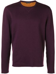 Jacob Cohen Crew Neck Sweater Pink And Purple