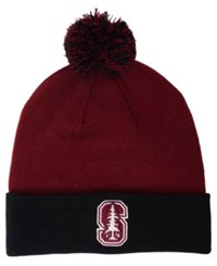 Top Of The World Stanford Cardinal 2 Tone Pom Knit Hat