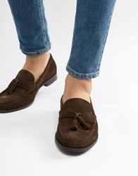 Ben Sherman Loafers Tassel Loafers In Brown Suede