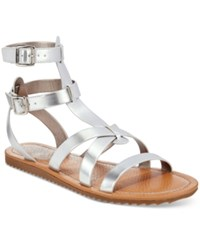 Circus By Sam Edelman Selma Gladiator Sandals Women's Shoes Silver