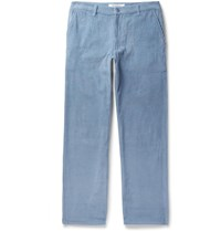 Noon Goons Catalina Cotton Corduroy Trousers Blue