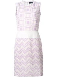 Jean Louis Scherrer Vintage Woven Sleeveless Dress White