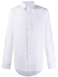 Canali Pointed Collar Shirt White