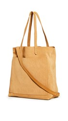 Madewell Medium Transport Tote Boutique Gold