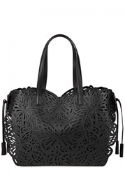 Sophia Webster Liara Black Butterfly Leather Tote