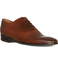 Kurt Geiger Graham Leather Oxford Shoes Tan