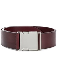 Orciani Work Buckle Belt Brown
