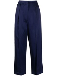 Semicouture High Rise Cropped Trousers 60