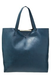 Anna Field Tote Bag Turquoise