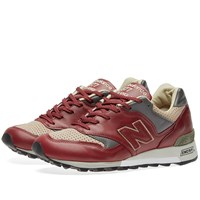 New Balance M577lbt Made In England Burgundy