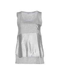 Fairly Topwear Tops Women Grey