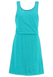 Prana Mika Jersey Dress Dragonfly Copa Turquoise