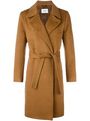 Ports 1961 Belted Trench Coat Nude Neutrals