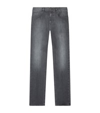 Zegna Slim Fit Jeans Grey