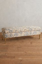 Anthropologie Florencia Woven Edlyn Bench Pink