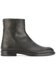 Maison Martin Margiela High Ankle Boots Men Calf Leather Leather 44 Black