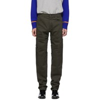 Y Project Green Layered Trousers