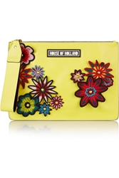 House Of Holland Bag Of Tricks Embellished Leather Clutch