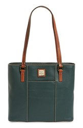 Dooney And Bourke 'Small Lexington Pebble Grain Collection' Water Resistant Leather Shopper Green Hunter
