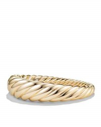David Yurman 17Mm Large Pure Form Cable Bracelet In 18K Gold