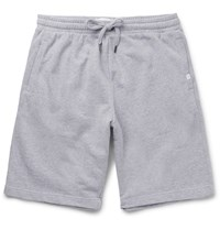 Derek Rose Devon Loopback Cotton Jersey Shorts Gray