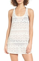 Roxy Women's Sporty Crochet Cover Up