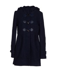 Duck Farm Coats Dark Blue