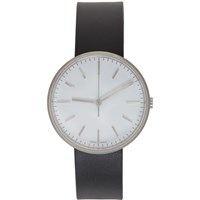 Uniform Wares Black And White Rubber M37 Watch