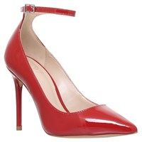 Kg By Kurt Geiger Estha Court Shoes Red