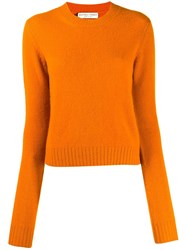 Bottega Veneta Cashmere Jumper Orange