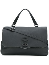 Zanellato Postina Satchel Leather Black