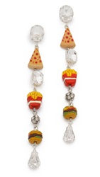 Venessa Arizaga Snack Attack Earrings Multi