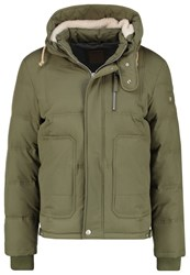True Religion Down Jacket Moss Dark Green