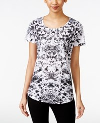 Styleandco. Style And Co. Sublimated Printed T Shirt Only At Macy's Opening Instruct