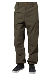 Carhartt Wip Cargo Trousers Cypress Rinsed Oliv