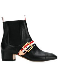 Thom Browne Nipped Toe Chelsea Boot Black