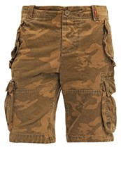 Superdry New Core Shorts Low Light Camo Oliv