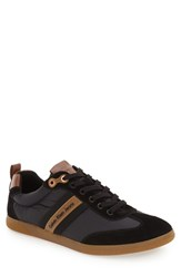 Calvin Klein Jeans Men's 'Utah' Sneaker Black Whiskey