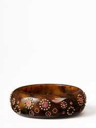 Kate Spade Out Of Her Shell Statement Bangle Tortoise Multi