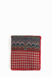 Missoni Wool Wrap Aztec Check Multi