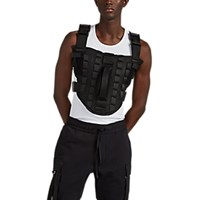 Alyx Buckle Detailed Tactical Mesh Vest Black
